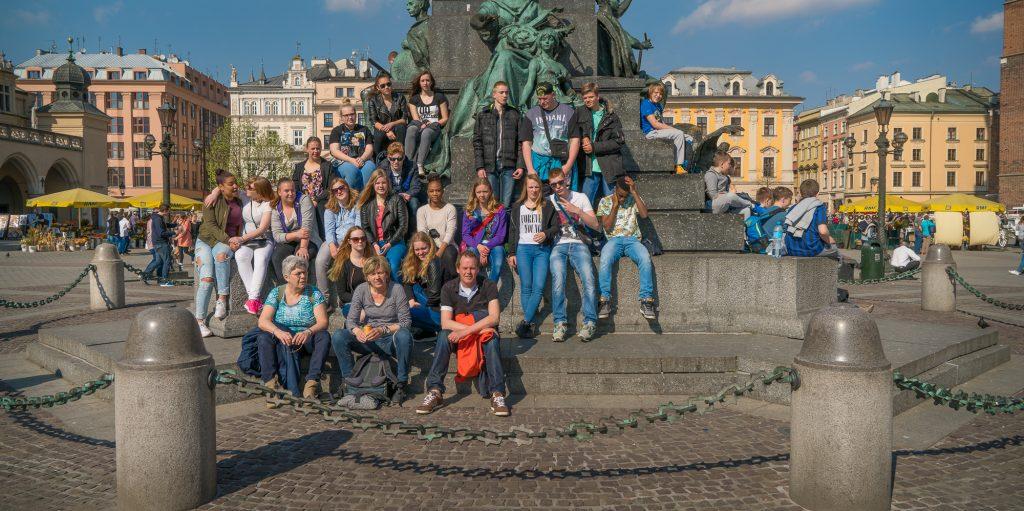 Schoolreis Krakau van groep 1