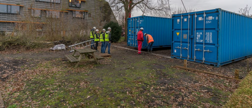Project verplaatsen containers